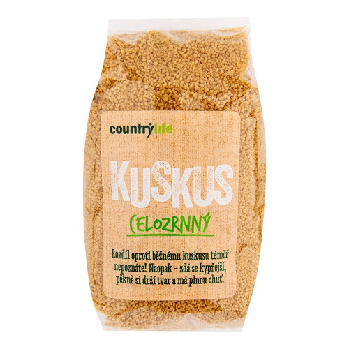 kuskus celozrnny country life countrylife vegan obchod veganobchod vegan felicity psenice psenicne krupice obed