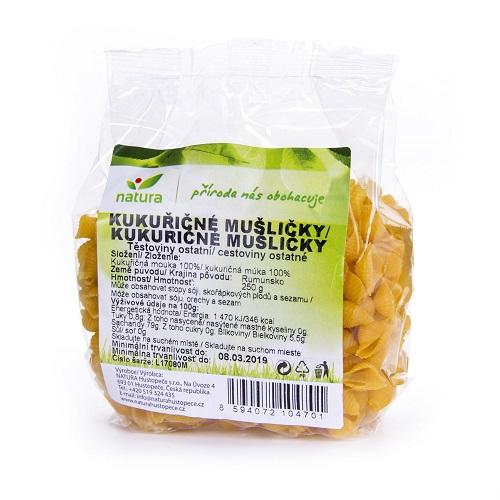 testoviny kukuricne muslicky musle natura vegan veganobchod vegan felicity veganfelicity bezlepkova dieta celiakie kukurice