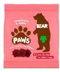 Bear Tlapky Jahoda Jablko 20 g