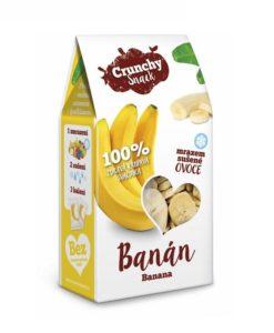 Banán mrazem sušený - lyofilizovaný Crunchy snack