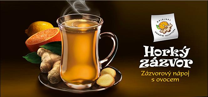Čaj Horký zázvor