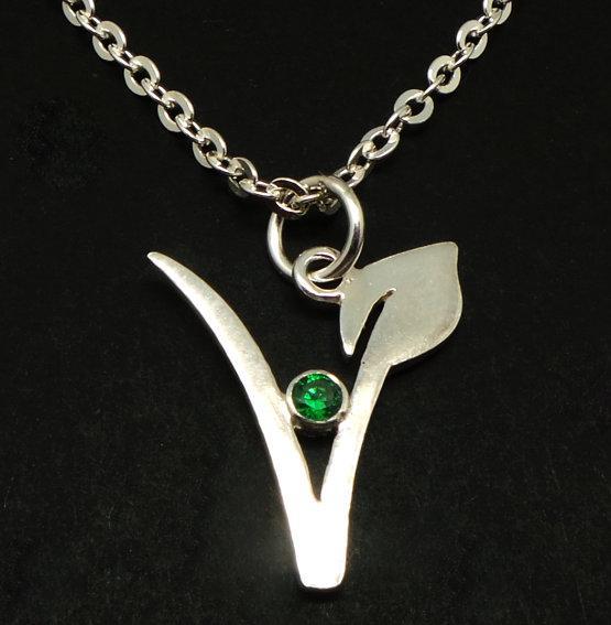 Přívěsek symbol vegan