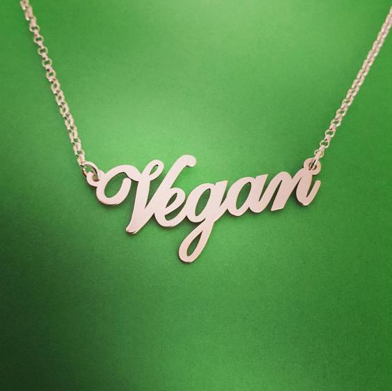 Náhrdelník Vegan