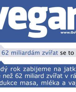 Samolepky vegan FB