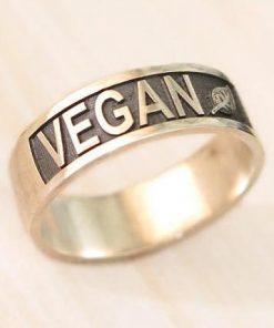 Prstýnek Vegan