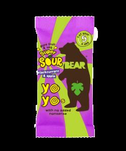 Yo yo Bear Černý Rybíz Kyselé