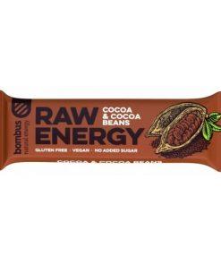 bombus raw energy kakao kakaove boby cocoa & cocoa beans tycinka kakako kakove boby vegan obchod veganobchod vegan felicity veganfelicity energie vitarian