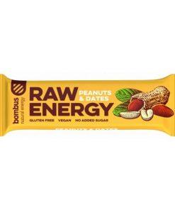 bombus raw energy arašídy & datle peanuts dates beans tycinka kakako kakove boby vegan obchod veganobchod vegan felicity veganfelicity energie vitarian
