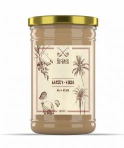 arasidy kokos orechove maslo arasidove jemne prazene sufanek arasidy oriskove orisky maslo maslicko krem vegan obchod veganobchod vegan felicity veganfelicity vanoce darek darky protein proteiny bilkovina bilkoviny peanut butter krupave