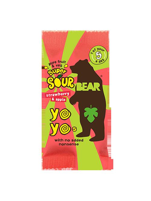 Yo yo Bear Jahody Kyselé