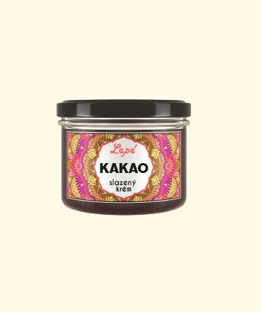 Kakaový krém slazený
