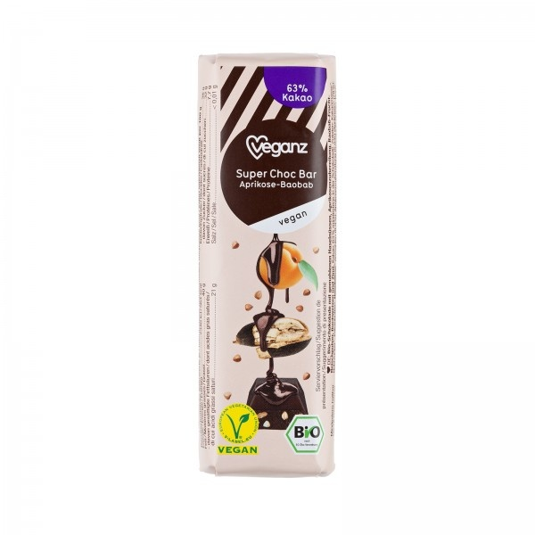 Super Choc Bar Meruňka/Baobab