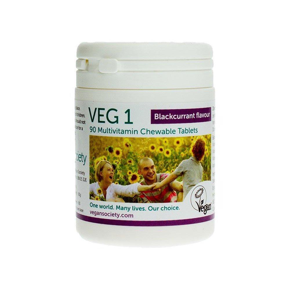 VEG 1 Černý rybíz Multivitamín 90 tablet