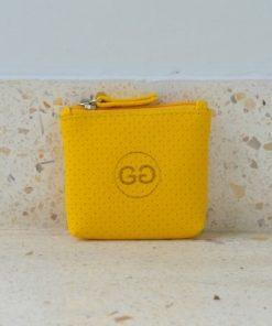 Peněženka Malá Žlutá Perforace Gado Gado