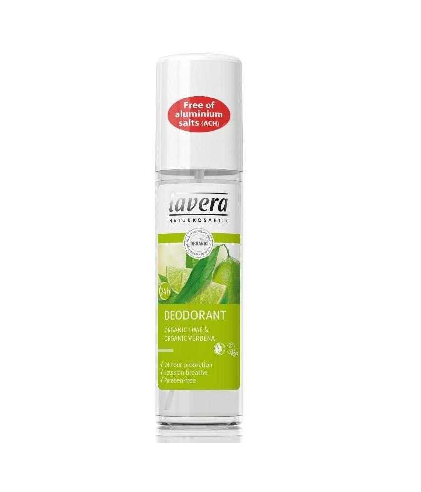 Svěží Deo Sprej Bio Verbena a Limetka Lavera