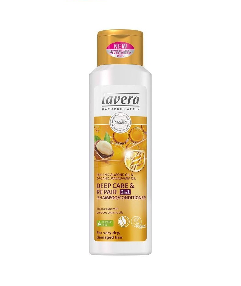 Šampon a Kondicionér 2v1 Deep Care & Repair Lavera