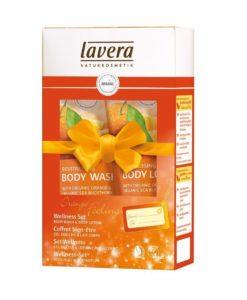Wellness Dárkový Set Pomeranč Lavera
