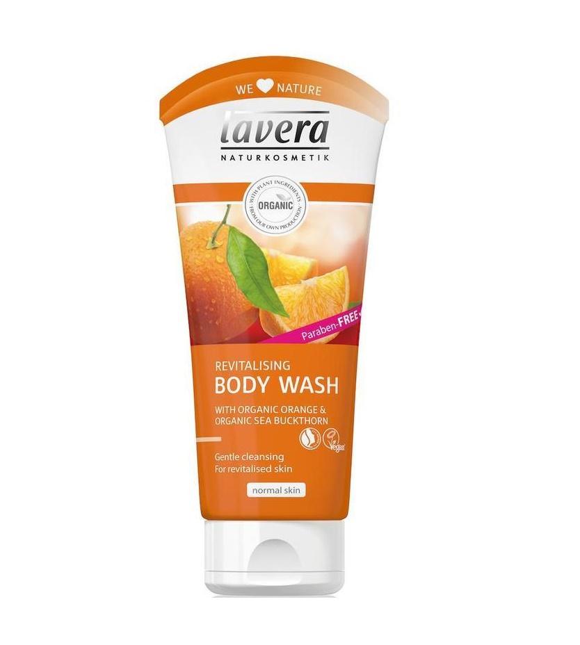 Sprchový gel BIO Pomeranč - BIO Rakytník Lavera