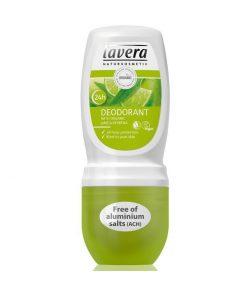 Jemný kuličkový deodorantBio Verbena a Limetka Lavera