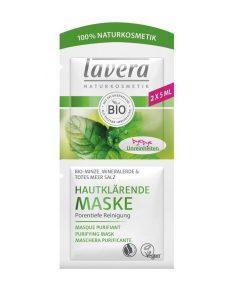 Hloubková Čistící Maska Bio Máta Lavera