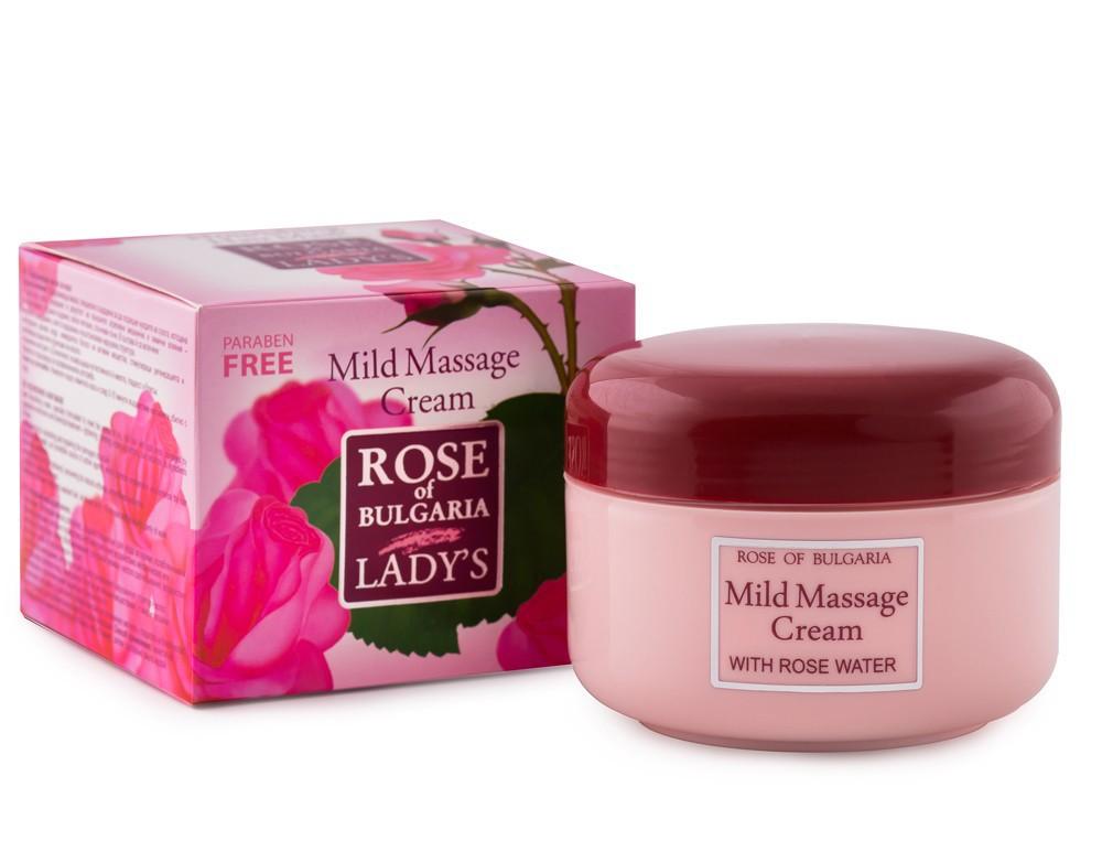 Masážní krém Růžová kosmetika