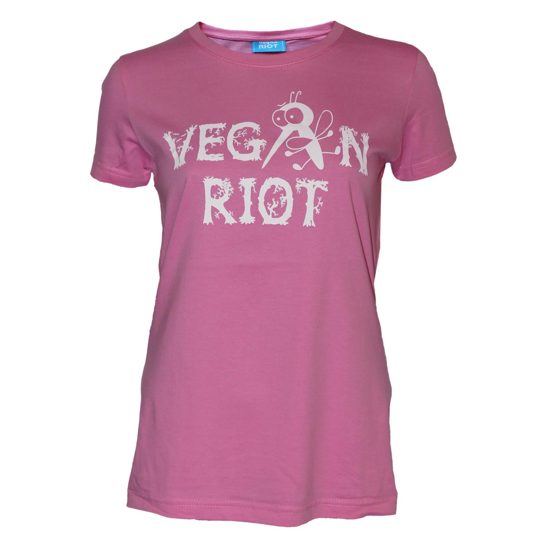 Dámské triko Vegan Riot Komár