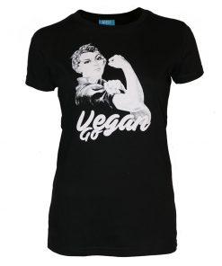 Dámské triko Go Vegan