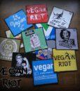 Vegan samolepky