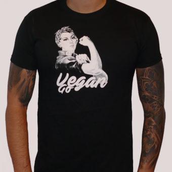 Pánské triko Go vegan