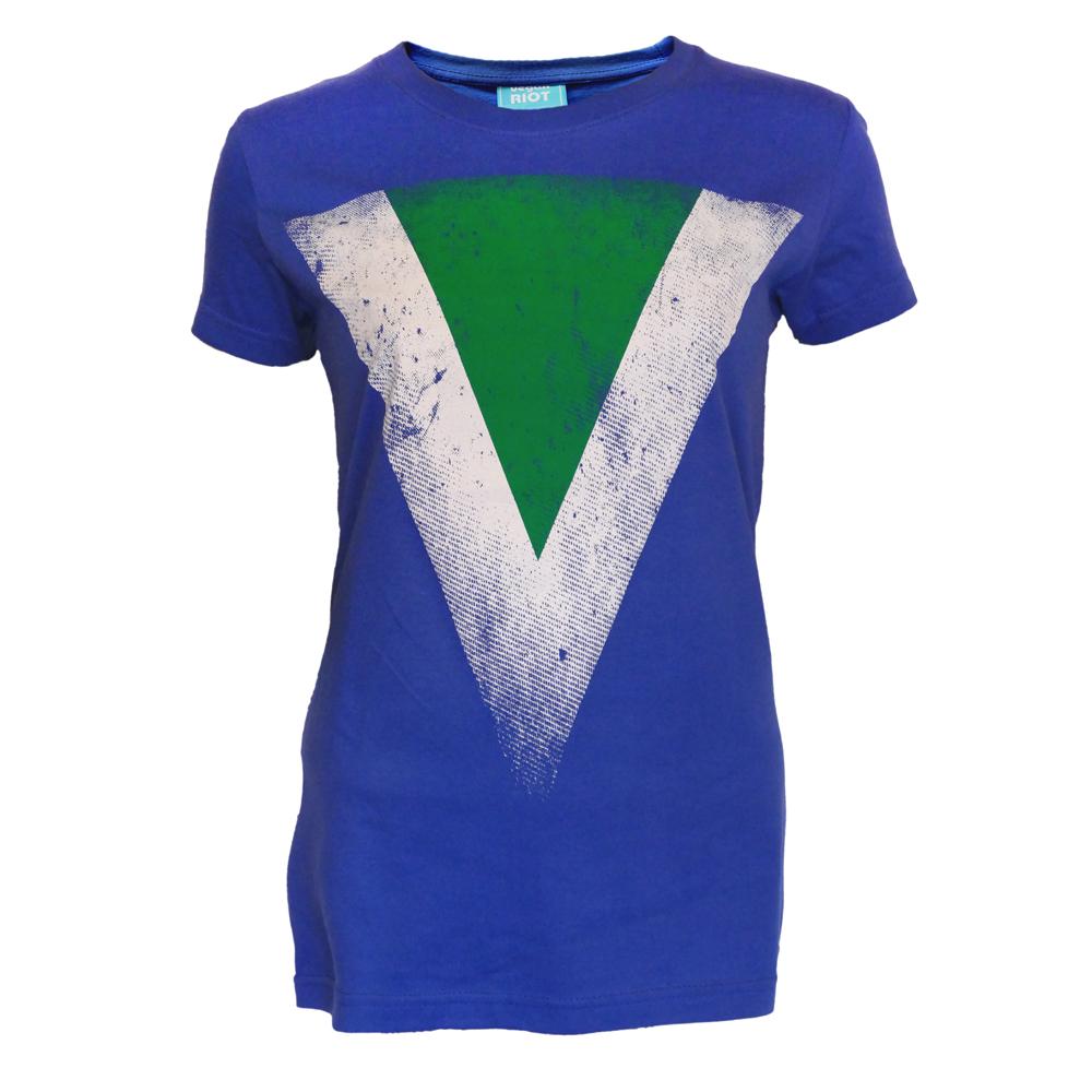 Tričko dámské Vegan vlajka