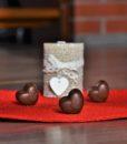 Pralinky Hořká čokoláda s malinami