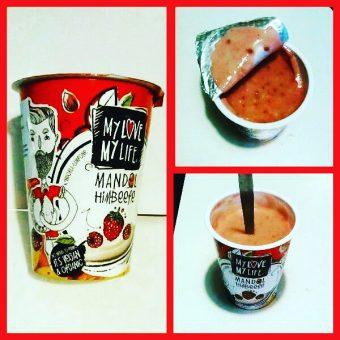 Mandlový Rostlinný Jogurt Maliny My Love My Life