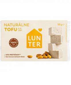 Lunter Tofu Natural přírodní alfabio alternativa masa tvarohu