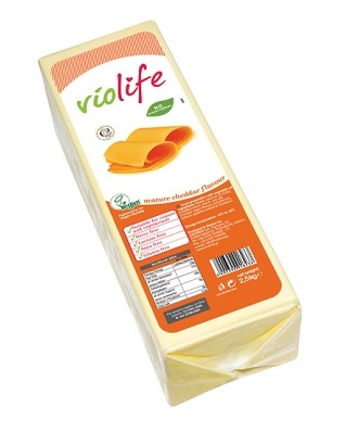 Violife sýr Cheddar na pizzu Maxi