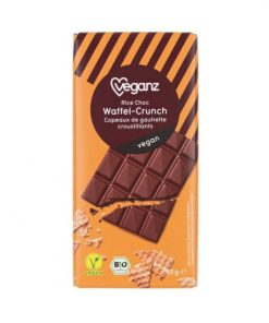 Čokoláda s Křupavými Vaflemi Bio Veganz