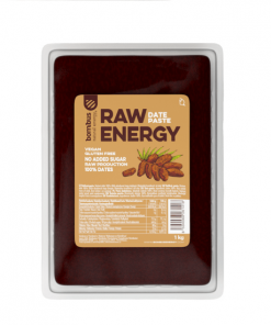 Datlová pasta Raw Energy Bombus