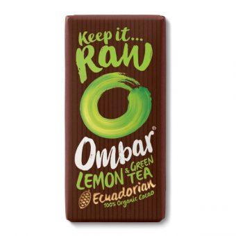 cokoláda Citron, Zeleny caj Ombar
