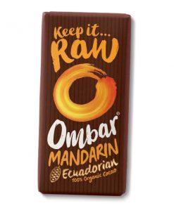 cokoláda Mandarinka Brusinka Ombar vegan