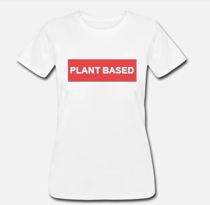 damske triko Plant Based vegan