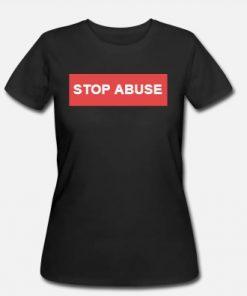 Dámské triko Stop Abuse