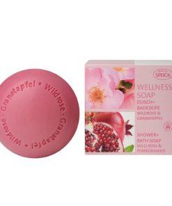 mydlo z ruze ruzove granatove jablko jablicko prirodni kosmetika speick vegan soap rose