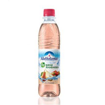 napoj hruska rebarbora adelholzener limonada mineralni voda