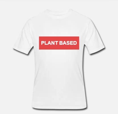panske triko Plant Based tricko vegan