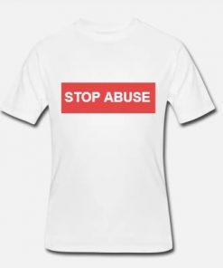 panske triko stop abuse vegan