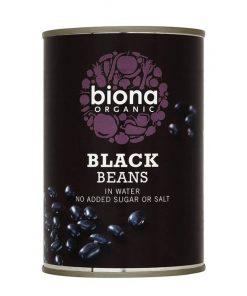 cerne fazole bio organic biona vecere obed rychle jidlo stanovani kempovani