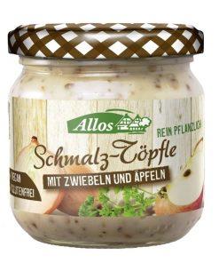 sadlo rostlinne vegan cibule cibulove sadlo s jablky jablka allos pomazanka maslo pastika oslava silvestr chlebicky