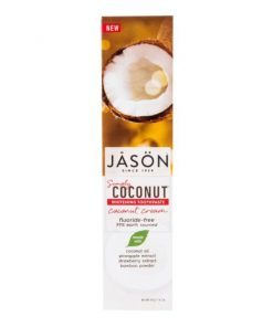 zubni pasta na zuby belici jason simply coconut kokos kokosova z kokosu beleni zubu bile zuby