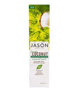 zubni pasta posilujici simply coconut jason na zuby leaping bunny