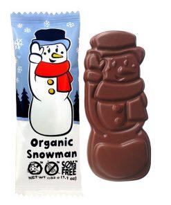 cokolada cokoladovy snehulak bio moo free advent mikulas
