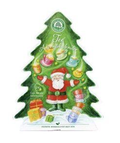 adventni kalendar caj cajovy bio vegan caje lebensbaum advent mikulas santa claus jezisek